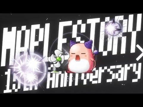 X3thearan59's 메이플스토리 검은마법사 쇼케이스 업데이트 영상