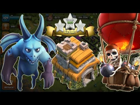 Balloonion Attack (Balloons & Minions) Strategy | Townhall 7 | Clash Of Clans