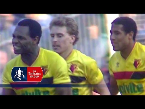 Arsenal v Watford - FA Cup R6 (1987) | From The Archive