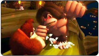 Donkey Kong Jungle Beat (Wii) - 100% Walkthrough - Part 1 Banana Kingdom (vs. Dread Kong)