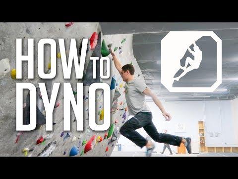 How to Climb Dynamically (Dyno!) VLOG!