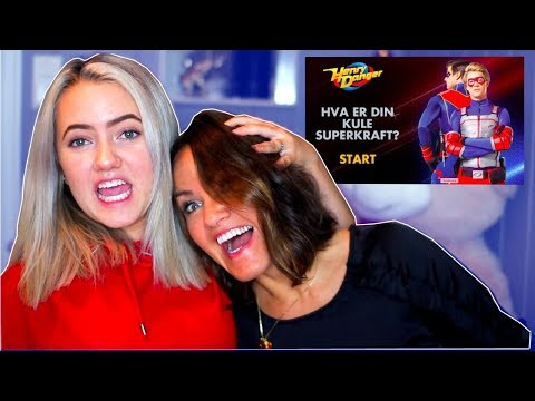 HVILKEN SUPERKRAFT HAR VI? Ft: Mamma!!