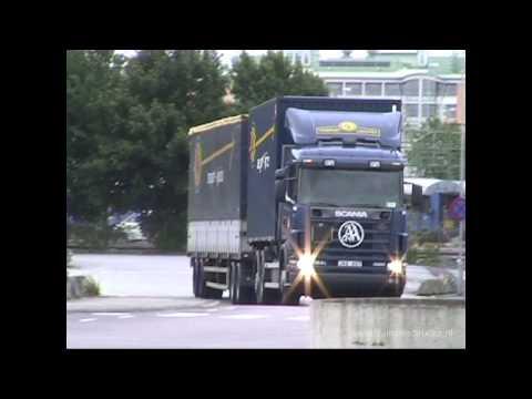 ASG trucks in Helsingborg, Malmö and Göteborg 14-07-2001