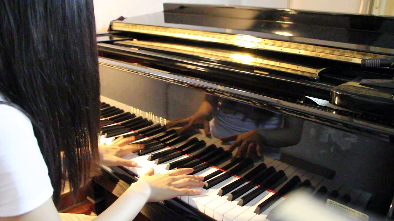 嚴爵 - 好的事情 - piano cover by Melody - YouTube