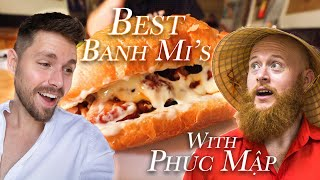 BEST Banh Mi's With Phuc Map | 4 RARE Banh Mi's That You Have To Try! | Vietnam Banh Mi Adventure!!