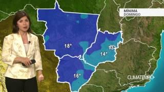Previsão Centro-Oeste – Grande amplitude térmica