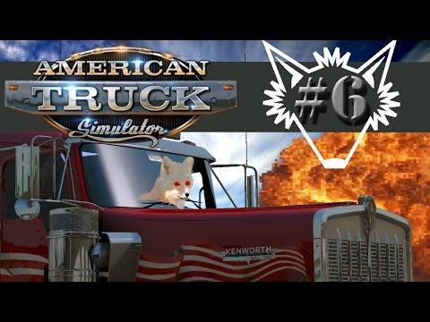 American Truck Simulator   Part 6   Recruitment Agencies, Santa Cruz to Primm - Gameplay Let's Play