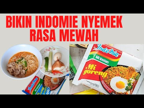 Cara Memasak Indomie Nyemek   How To Cook Delicious Indomie Noodles
