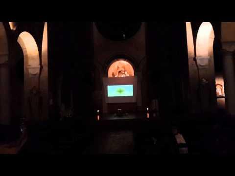 Le tempometre (Sébastien Juy) à Notre-dame du Rosaire Paris 14 pour Nuit blanche 2014