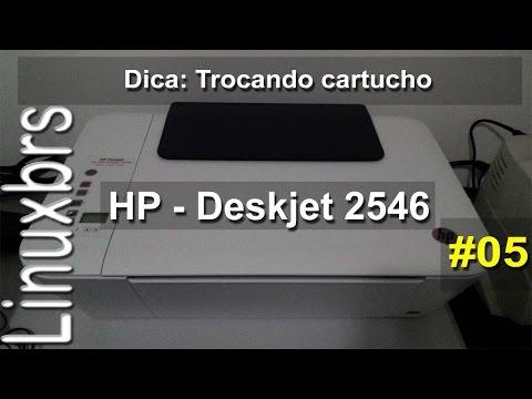 Como Colocar O Cartucho Da Hp 2546 Com Mais Detalhes Doovi