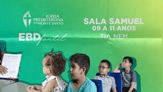 EBD INFANTIL IPMS | 13/12/2020 - Sala Samuel 9 a 11 anos