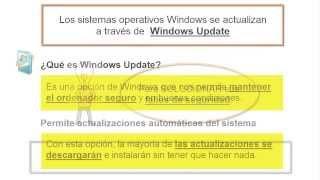 Cómo activar las actualizaciones automáticas en Windows 7 y Windows 8