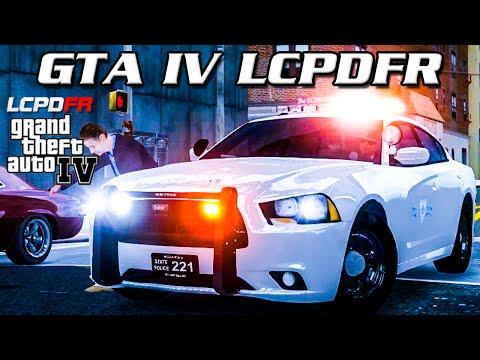 GTA IV LCPDFR MP - Rhode Island State Police