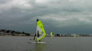 Beginners Windsurfing Lessons - Sailing Across the Wind