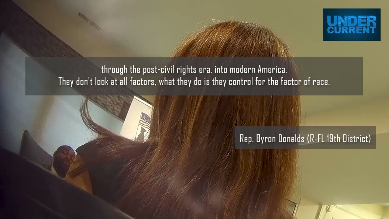 Black Congressman & GOP Rising Star Byron Donalds: Critical Race Theory is a Secret Leftist Plot