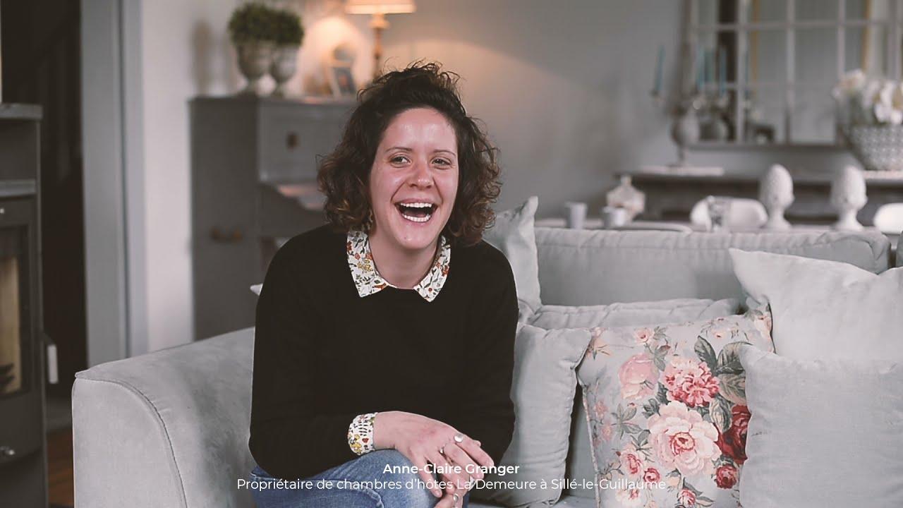 [VIDÉO] Rencontre avec Anne-Claire Grangé, propriétaire d'une chambre d'hôtes