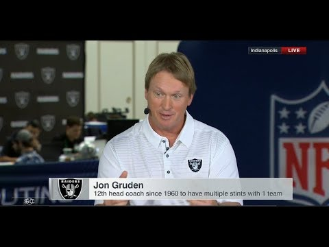 Jon Gruden Live From NFL Scouting Combine | Feb 28, 2018