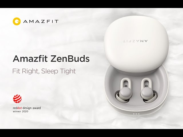 Amazfit ZenBuds Official Video: Fit Right, Sleep Tight