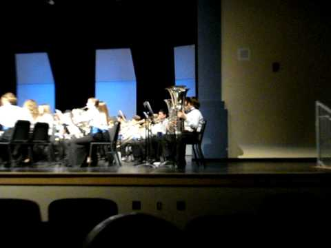 Independence Middle School Band - Jupiter, Florida - MPA Grading - 3/5/11