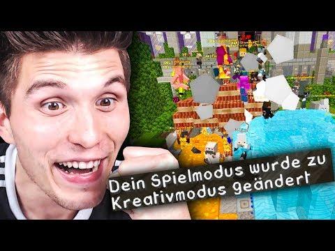 Ich habe GAMEMODE 1 auf Rewis Server