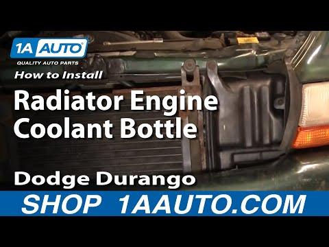 Durango Radiator Engine Coolant Bottle Replace Durango