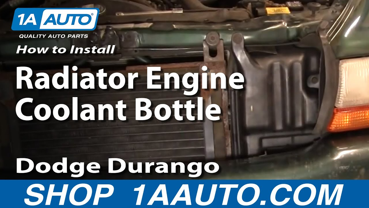 How To Replace Radiator Coolant Overflow Bottle 98 99