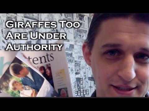 Giraffes Too Are Under Authority (Luke 7:1-10)