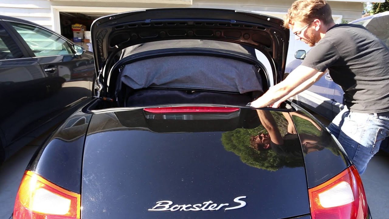How To Remove The Engine Cover On A Porsche Boxster 986