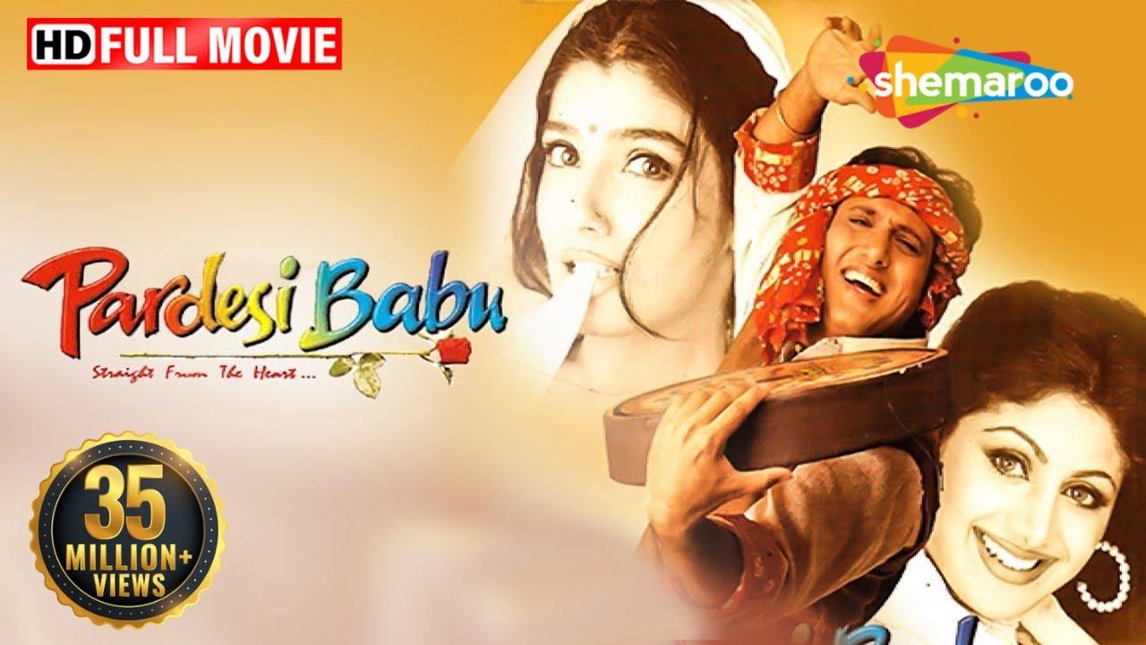 Download Pardesi Babu | Full Movie | Govinda | Raveena Tandon | Shilpa Shetty Kundra | Comedy Movie
