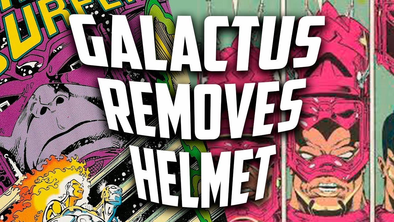 What Does Galactus Looks Like Under His Helmet Silver Surfer 51
