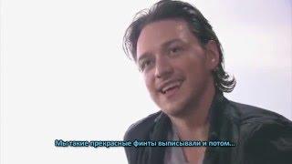 """Face2Face: МакЭвой и Фассбендер о """"Первом Классе"""", 2011 г."""