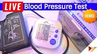 How To Check Blood Pressure At Your Home Using Dr. Morepen Bp Monitor | Data Dock
