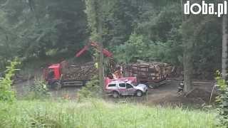 Śmiertelny wypadek w lesie w Bielawie