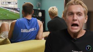GNTM: Ο Edward ξενερώνει με το Ολυμπιακός - Κράσνονταρ 4 - 0 | Luben TV