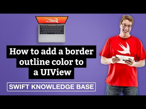 How to add a border outline color to a UIView – Swift 5 thumbnail