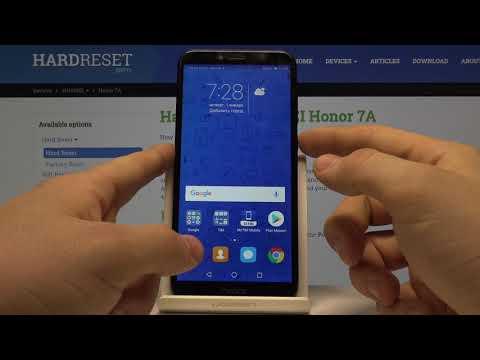Honor 7A Pro — Как добавить отпечаток пальца на телефон Honor 7A Pro