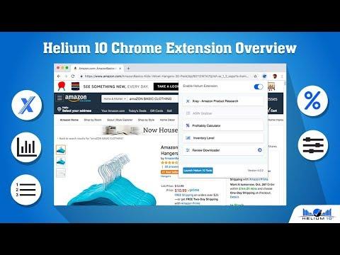 helium 10 extension