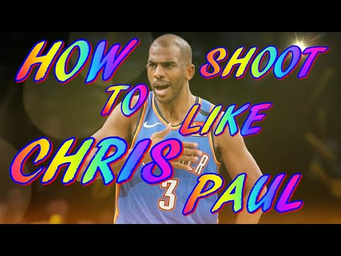 chris paul cp3 shooting form nba breakdown how to shoot