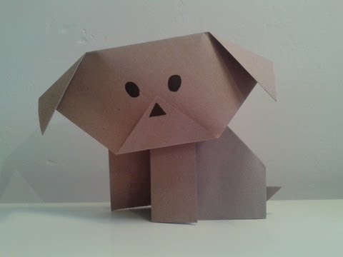 origami puppy youtube