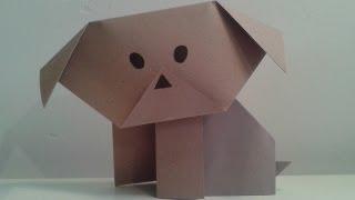 Origami Puppy!