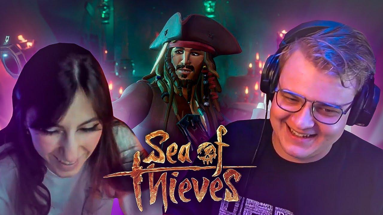 Пятёрка и Сонечка играют в Пиратиков (Sea of Thieves) Смешные Моменты | Нарезка стрима ФУГА TV