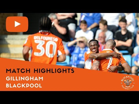 Match Highlights | Gillingham 0 Blackpool 3