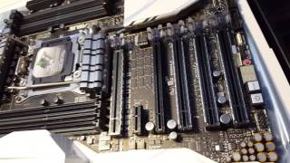 Unprofessional unboxing and overview of ASUS X99 Deluxe II PART 1