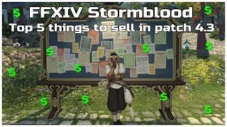 FFXIV Stormblood Top 5 things to sell in patch 4.3