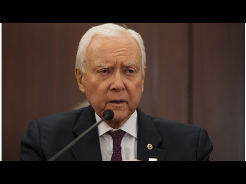 Sen. orrin g. hatch said it is an honor to be the utahn of the year '. ' it's not.