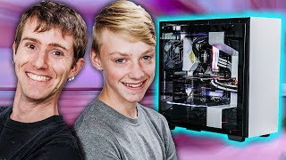 We Replaced His Crappy Laptop With A Dream Pc!!   Rog Rig Reboot 2018