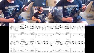 Iron Maiden's The Trooper Intro Guitar Lesson Preview