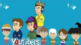 Youtubers 2: The quest for the Missing Diamond (Full Movie)