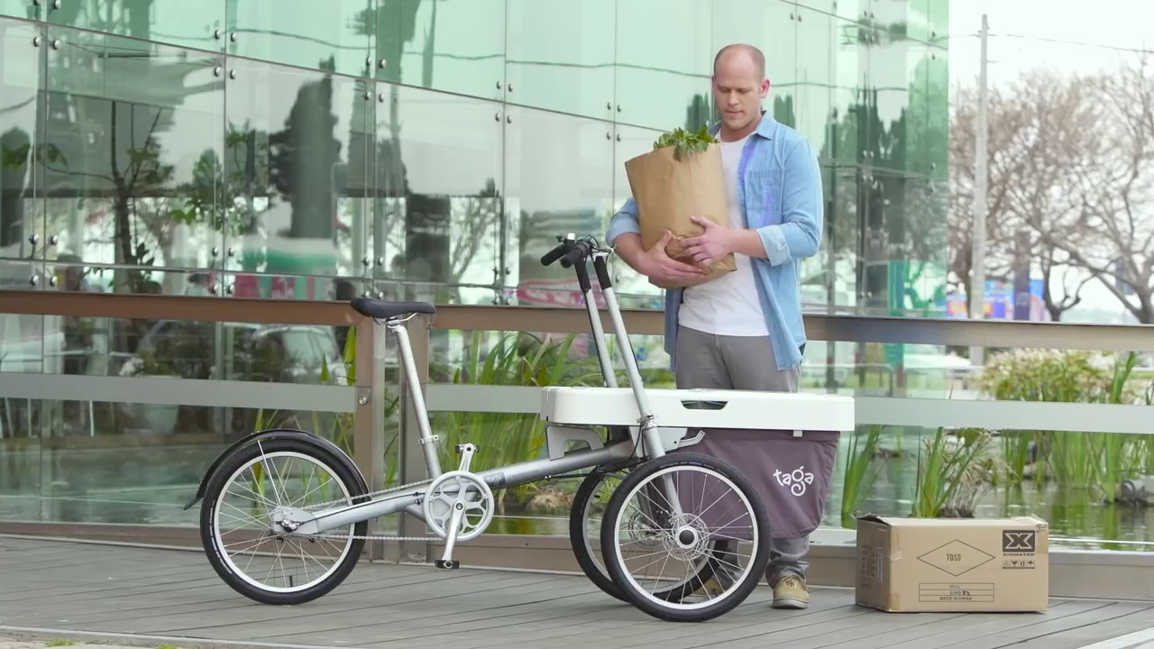 Taga bike 2.0 stroller video | Incurator - YouTube