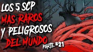 LOS 5 SCP MAS RAR0S Y PELIGR0SOS DEL MUNDO #21